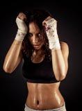 Female fitness body Stock Photography