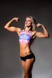 Female Fitness Bodybuilder Stock Image