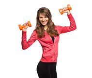 Female Fitness Series Royalty Free Stock Photo