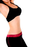 Female fitness torso Royalty Free Stock Photo