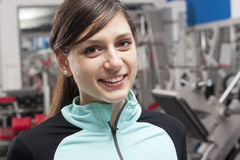 Female fitness trainer Royalty Free Stock Image