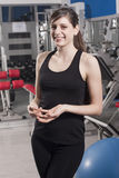 Female fitness trainer Stock Photo