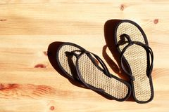 Female Flip-Flops Stock Photo