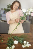 Female florist Royalty Free Stock Photography
