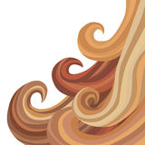 Female Flowing Hair Royalty Free Stock Photos
