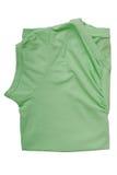 Female folded tee shirt Royalty Free Stock Photos