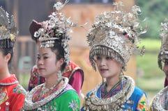 Female folk singers Stock Photos