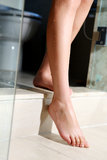 Female foot Royalty Free Stock Photography