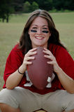 Female Football Player Stock Photos