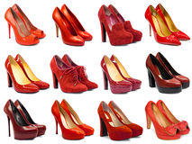 Female footwear collection-5 Royalty Free Stock Image