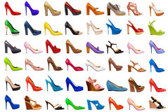 Female footwear collection-3 Royalty Free Stock Photo