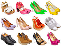 Female footwear collection-7 Royalty Free Stock Photography