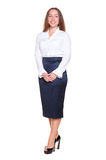 Female in formal clothes Royalty Free Stock Image