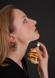 Female fragrance Royalty Free Stock Image