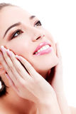 Female with fresh clear skin Royalty Free Stock Image