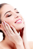 Female with fresh clear skin Royalty Free Stock Photo