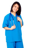Female friendly doctor Stock Photography
