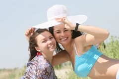 Female friends Stock Image