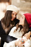 Female friends Stock Images