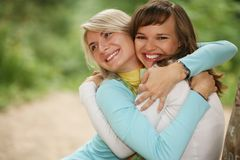 Female friends stock photos