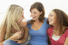 Female Friends Laughing Together Royalty Free Stock Photo