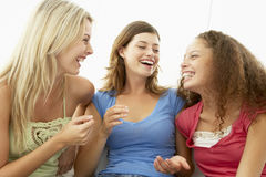 Female Friends Laughing Together Royalty Free Stock Photos