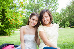 Female friends portrait Royalty Free Stock Images