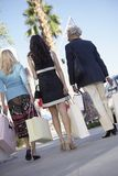 Female Friends With Shopping Bags Stock Image