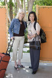 Female Friends On Vacation Royalty Free Stock Images