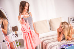 Female friends Royalty Free Stock Images