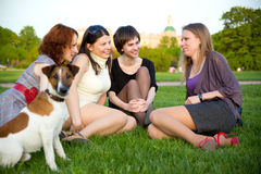Female friendship Royalty Free Stock Photos