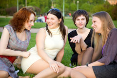 Female friendship stock images