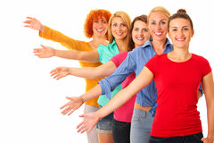 Female friendship Royalty Free Stock Photography