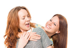 Female friendship Royalty Free Stock Photo