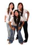 Female Fun Friendship Royalty Free Stock Photography
