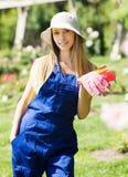 Female gardener Stock Photos