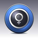 Female gender symbol Royalty Free Stock Image