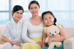 Female generation Stock Photo