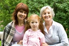 Female generations Stock Images