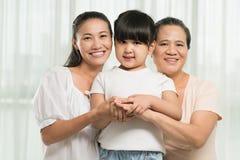Female generations royalty free stock image