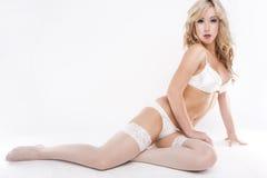 Female glamour  model Stock Images