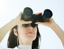 Female glance Stock Image