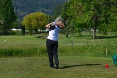 Female Golfer Stock Photography