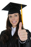 Female Graduate 05 Royalty Free Stock Photos