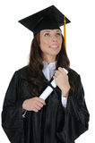 Female Graduate 06 Stock Photography