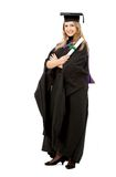 Female graduate Royalty Free Stock Photo