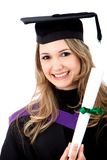 Female graduate Stock Image