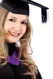 Female graduate Stock Images