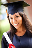 Female graduate Stock Photos