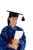 Female graduate Stock Photography